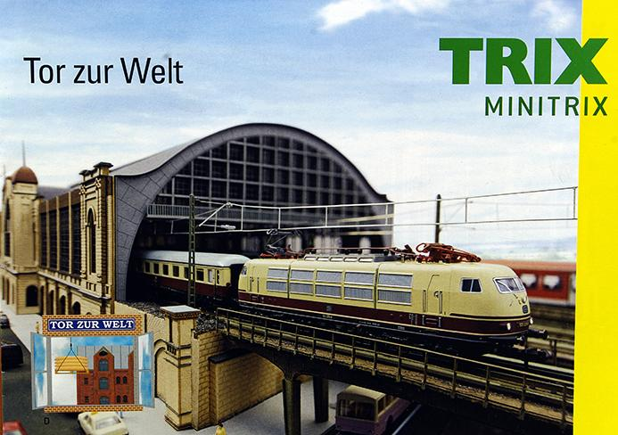 Артикул 10120-54 Миникаталог Minitrix. Top zur Wet 2013 год. Масштаб N. 13 стр, на немецком языке.