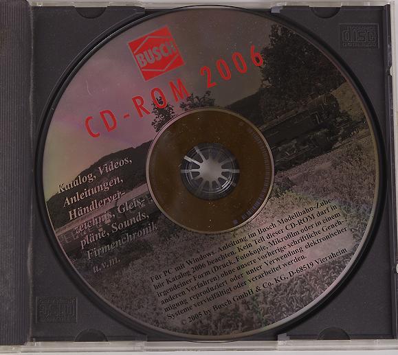 Артикул 7041-5  Компакт-диск - каталог BUSCH за 2006 год.
