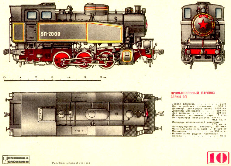 Танк-паровоз типа 9П
