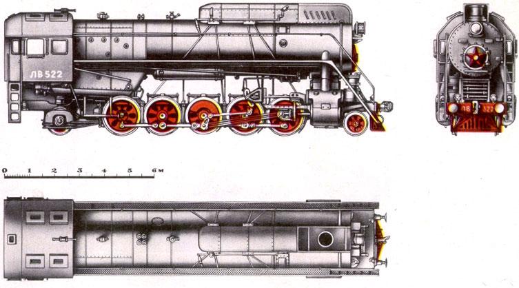 Грузовой паровоз серии ЛВ