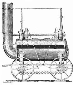 грузовой локомотив Стефенсона Killingworth