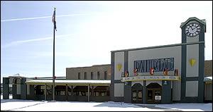 Новый фасад музея железных дорог штата Пенсильвания