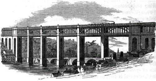 High Level Bridge в Ньюкасле на Тайне