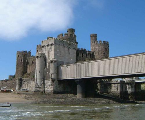 Conwy Bridge в его современном виде
