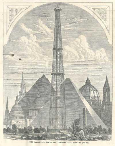 1000-футовая башня Centennial Tower
