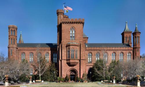 Штаб-квартира Смитсоновского института в Вашингтоне